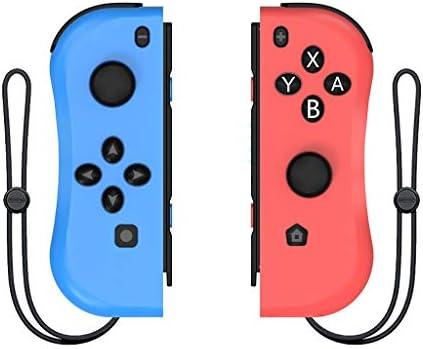 XZBBH Nintendスイッチコンソール用のワイヤレスBluetooth左右Joyconゲームコントローラーゲームパッド用NintendスイッチNS Joyconゲーム (色 : F)