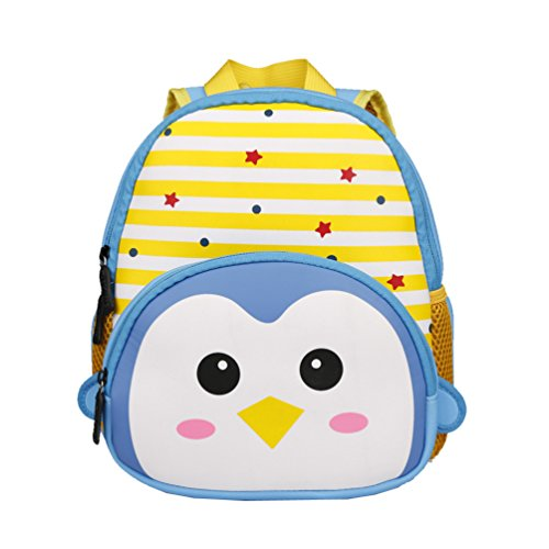 Bozdqun Cute Penguin Printed 3D Kids Little Kid Backpack Toys Outdoor School (Penguin Gift Box)