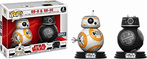 Funko - POP! Star Wars Last Jedi: BB-8 and BB9-E 2 Pack (Best Buy Exclusive)