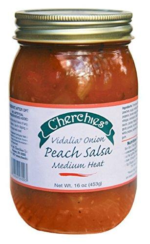 (Cherchies Vidalia Onion Peach Salsa)