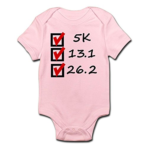 CafePress Race Checklist Infant Bodysuit - Cute Infant Bodysuit Baby - Checklist Race