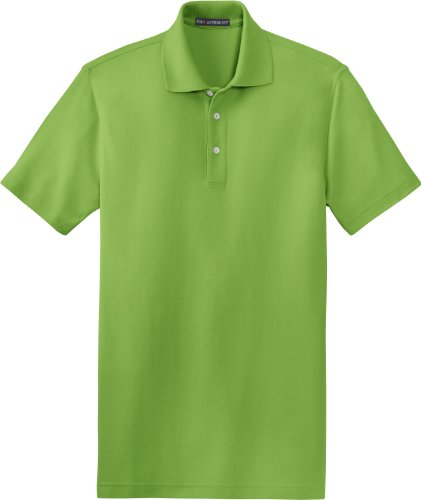 (Port Authority - EZCotton Pique Polo Shirt. K800 - XXX-Large - Green Oasis)