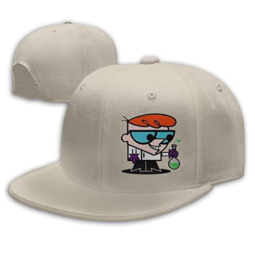 NANJINQIE Dexters Lab Logo Classic Plain Baseball Cap Cotton Adjustable Dad Hat Natural