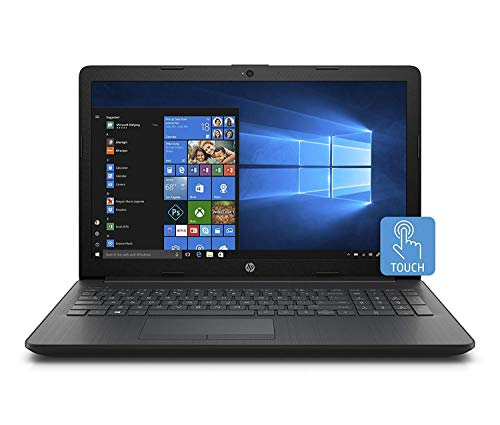 "2018 Newest Premium HP 15.6"" Business Flagship Laptop HD+ WLED-backlit Touchscreen Display Intel i3-7100U Processor 12GB DDR4 RAM 1TB HDD Intel 620 Graphics DVD-RW 802.11AC Wifi HDMI Windows 10-Black"