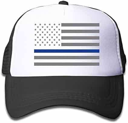 4e7e6e793d4 NVJUI JUFOPL USA Flag Youth Toddler Mesh Hats Boy and Girls Baseball Trucker  Cap