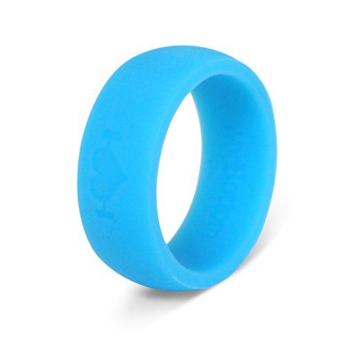 Silicone Wedding Rings for Men, Perfect for Crossfit, Wods, Swimming, Sports, Outdoors. Replace Your Wedding Band with a Hypoallergenic, Medical Grade Silicone Wedding Ring.