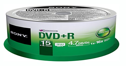 Sony DVD+R (15 pk Spindle) by Sony