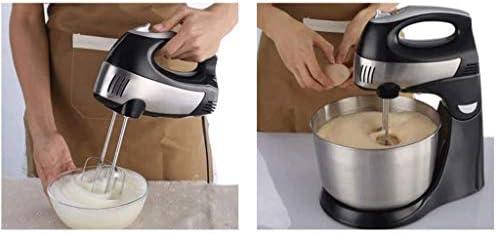 XXDTG 1.7L Grande capacité Fouet, 5 Vitesses Réglage, Cuisine 260W Cuivre Moteur de Base de Cuisine Mixer Machine