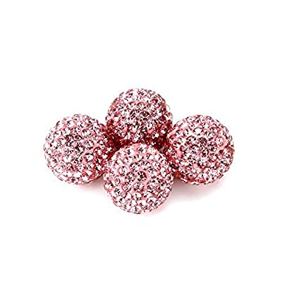 KEYPOWER Direct Valve Dust Caps for Car, Motorbike, Trucks, Bike and Bicycle Crystal Rhinestone Tire Valve Dust-Proof Caps Bling Car Accessories Universal Fit (Pink): Sports & Outdoors