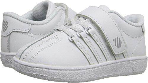 K-Swiss Classic VN VLC Shoe, White/White, 7 M US Toddler