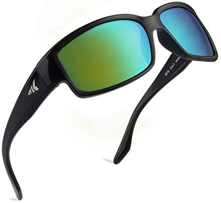 KastKing Skidaway Polarized Sport Sunglasses for Men and Women,Ideal for Driving Fishing Cycling and Running,UV Protection