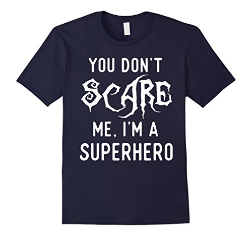 Mens Funny Superhero Shirts Halloween Costume Joke Gag Gifts. 2XL Navy