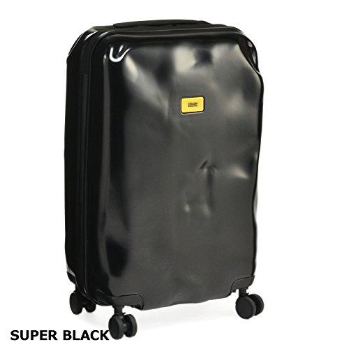 CRASH BAGGAGE(クラッシュバゲージ) バッグ メンズ PIONEER M 65L スーツケース/キャリーバッグ CB102-0001[並行輸入品] B07B49LKQLSUPER BLACK