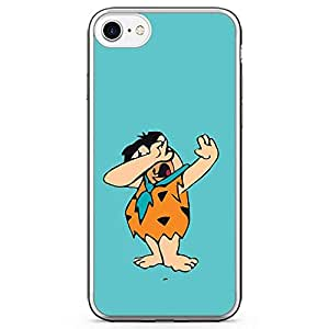 Loud Universe Dab Flinststone iPhone 7 Case Dance Move iPhone 7 Cover with Transparent Edges