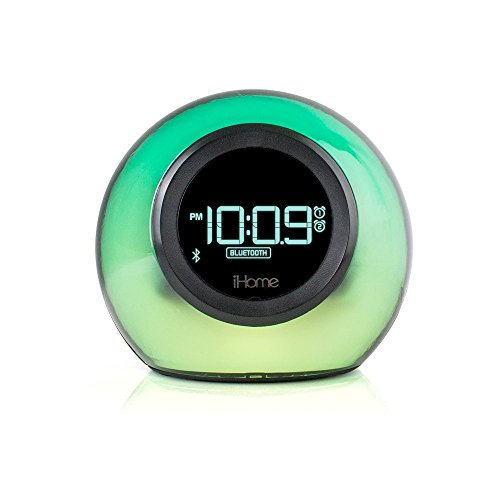 low cost deal on ihome ibt29bc bluetooth color changing. Black Bedroom Furniture Sets. Home Design Ideas