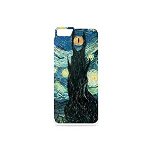 Funny IPhone6 Case, Van Gogh Mordor American Pie Omaker Comprehensive Protection Case for iphone 6 4.7 inch Plastic and TPU Black&White