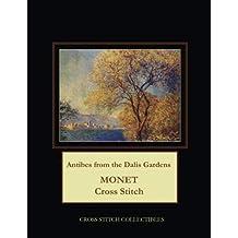 Antibes from the Dalis Gardens: Monet Cross Stitch Pattern