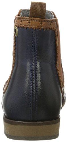 nobrand Damen Flat Chelsea Boots Braun (Cognac)
