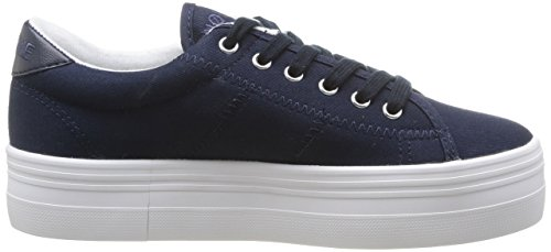 Multicolore Zapatillas Fox Navy Multicolor No de White Canvas Mujer Name Deporte Plato de pAEPwzq4