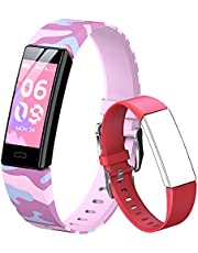 Mgaolo Fitness Tracker for Kids Boys Girls 6+, Waterproof Activity Tracker with Heart Rate Sleep Monitor,11 Sport Modes Watch with Pedometer Alarm Clock,Step Calories Counter,Kids Gift