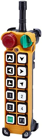 Calvas Telecontrol F24-12S industrial radio remote control transmitter universal wireless control for crane 1transmitter