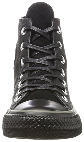 Charcoal Black Leather Black Schwarz Suede Unisex Converse Star Hi Sneaker Adulto qPaEv8xw