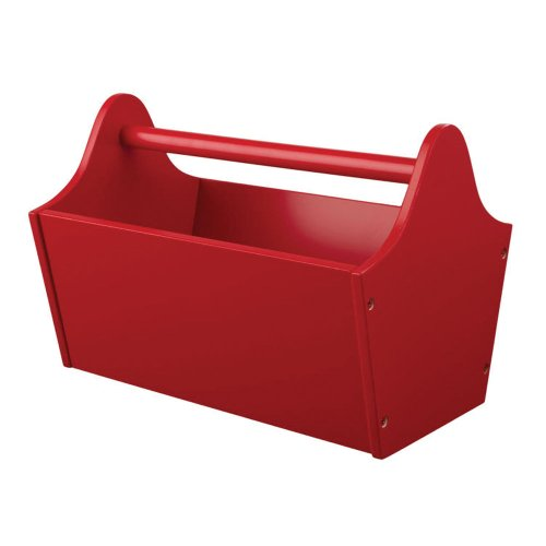 Toy Caddy - Red (Kidkraft Wood Toy Caddy)