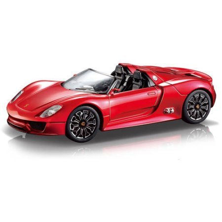 Porsche Spyder 1:24 R/C Car, Red - Tyco Corvette