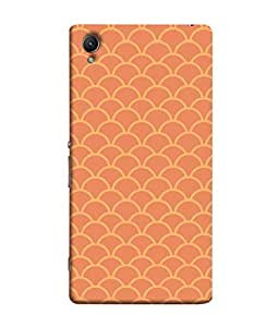 ColorKing Sony Xperia Z5 Case Shell Cover - Waves Multi Color