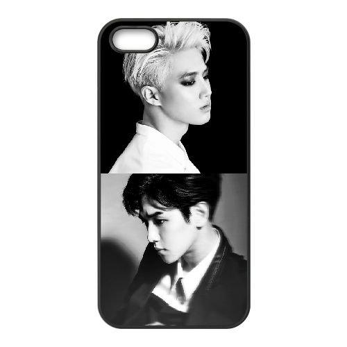 Exo 007 iPhone 5 5S Handyfall hülle schwarz Handy Fallabdeckung EOKXLLNCD23613