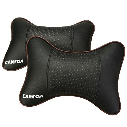 CAMTOA 2PCS Car Neck Pillow (Soft Version) Lovely Breathe Car Auto Head Neck Rest Cushion Headrest...