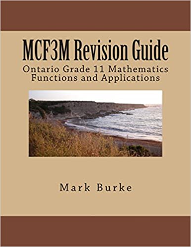 Amazon com: MCR3U Revision Guide: Ontario Grade 11 Academic