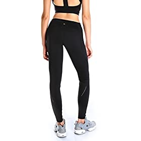 - 41 JP3cMRLL - Yogipace Petite/Regular/Tall,25″/28″/31″,Women's Water Resistant Fleece Lined Thermal Tights Winter Running Cycling Skiing Leggings with Zippered Pocket