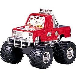 4x4 Monster Truck Alarm Clock Red