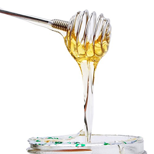 Bingpong 3 stücke Edelstahl Lange Honig Rührstab Spirale Rührstäbchen Zucker Löffel Cocktail Getränke Jam Muddler Bar Küchenwerkzeuge