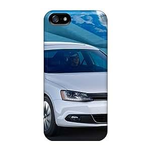 New MhXeu4054FlwNh Volkswagen Jetta Hybrid 2013 Skin Case Cover Shatterproof Case For Iphone 5/5s