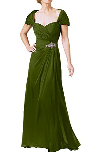 prom di ivyd Donna cuore forma di A abito ressing abito Stile ballo da Line Verde sera in di Fest XXqw6H