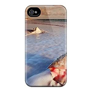 New Arrival Conch Shell On Cats Isl FoKqbSm4505MVVfo Case Cover/ 4/4s Iphone Case