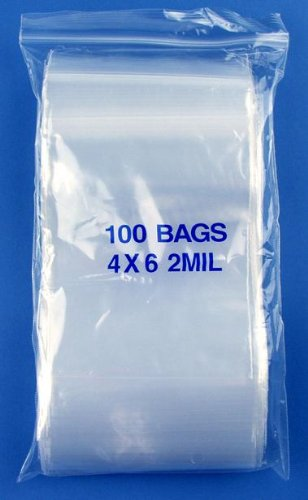 6 Mil Zip Lock Bags - 3