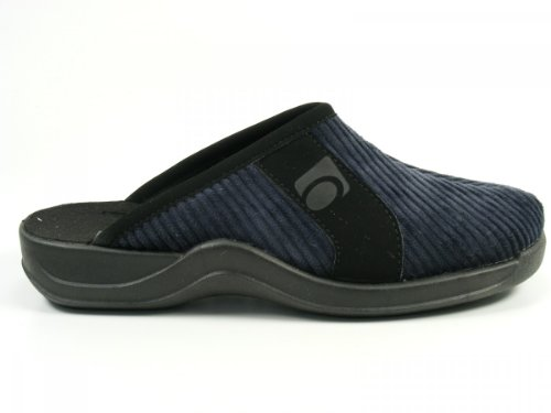 Rohde Relexa-H 2744 - Pantuflas de tela para hombre Blau