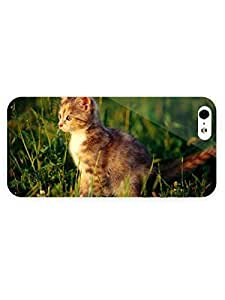 3d Full Wrap Case for iPhone 5/5s Animal Cat12 by runtopwell