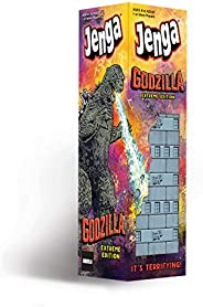 USAOPOLY Jenga: Godzilla Extreme Edition | Based on Classic Monster Movie Franchise Godzilla | Collectible Jen