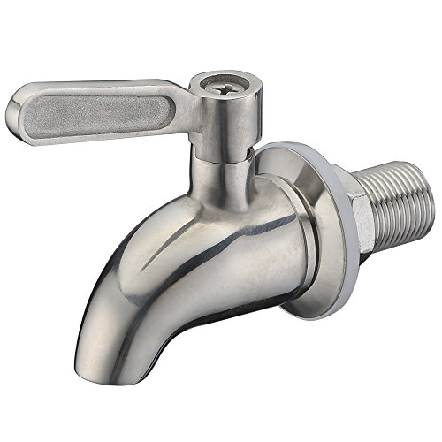 - SUCASA Brushed Stainless Steel Beverage Dispenser Spigot Premium Quality Compatible With Gravity Water Filter System