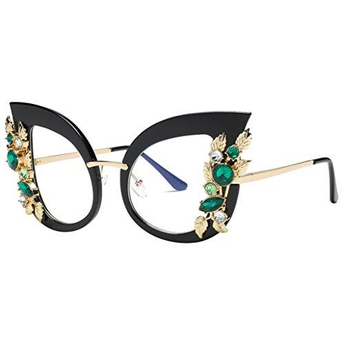 G&Kshop Sunglasses Oversize Vintage Flower Gradient Sun Glasses for Party - Sunglasses D&g Flowers