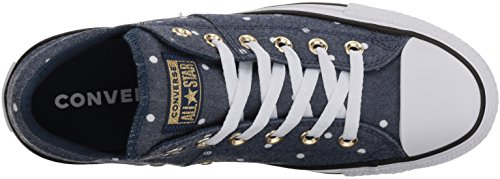 Navy Converse Femme Mini Madison Pois white Basses gold fRqvBwf