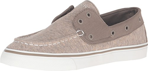 Sperry Top-Sider Women's Biscayne Laceless Taupe Sneaker 7.5 M (B)
