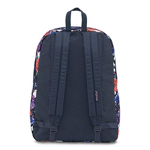JanSport Unisex Superbreak Classic Ultralight Backpack Morning Bloom