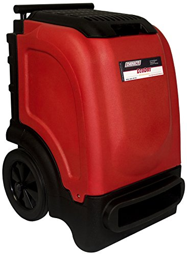 EcoDry Red Commercial Dehumidifier 110 Pint LGR by Impact Restoration Supply