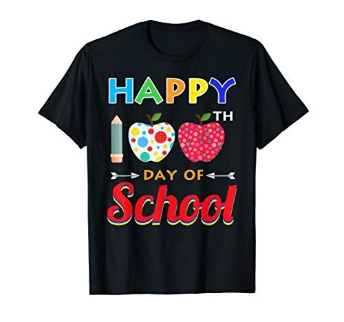 Happy 100th Day Of School Shirt Gift Teacher and Students