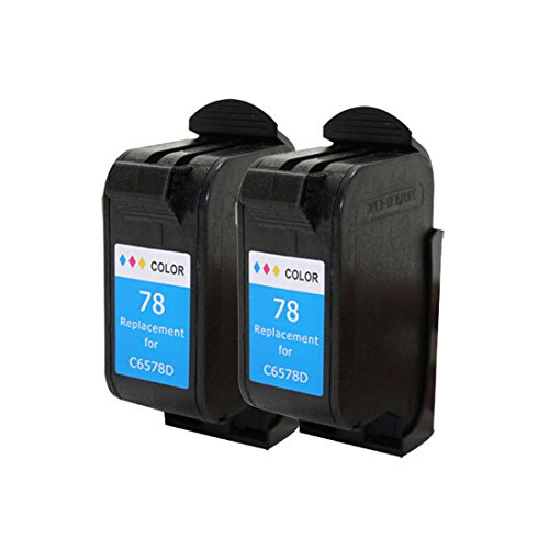 Cartridge Compatible Copier (YATUNINK 2 Pack(Color) #78 Replacement for HP 78 Ink Cartridges Compatible for HP Deskjet/Color Copier/Fax /Officejet/Photosmart /PSC Series Printer)